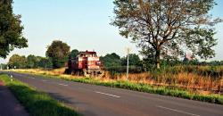 RAG 606 auf der Zechenbahn unterwegs.