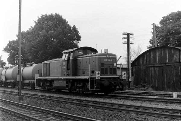 290 394 mit Vegetationskontrollzug in Xanten