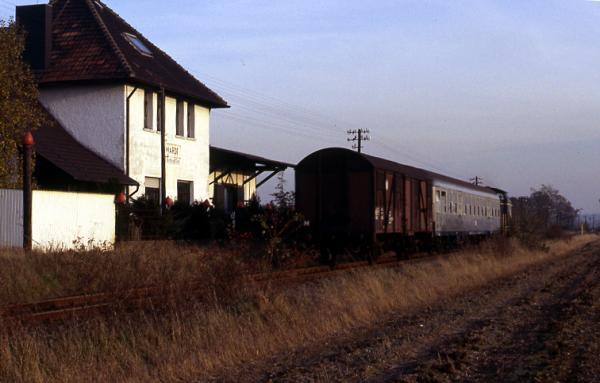 Der ehem. Bahnhof Wardt