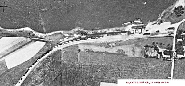 Luftbild Birten - Detail Verladeanlage Ende der zwanziger Jahre