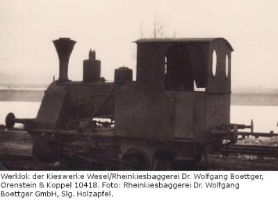 Werklok Orenstein & Koppel 10418
