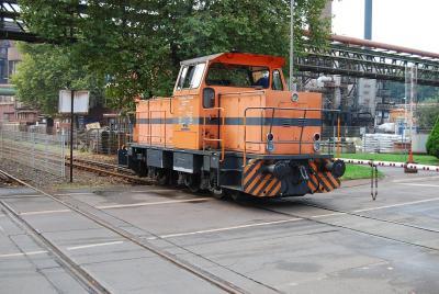 Sachtleben Lok 2 am Bü Bruchstraße (20.09.2014)