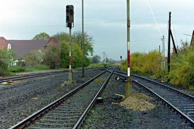 Nördlicher Bahnhofskopf