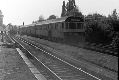Umbau 1991: Der Hausbahnsteig wird erneuert